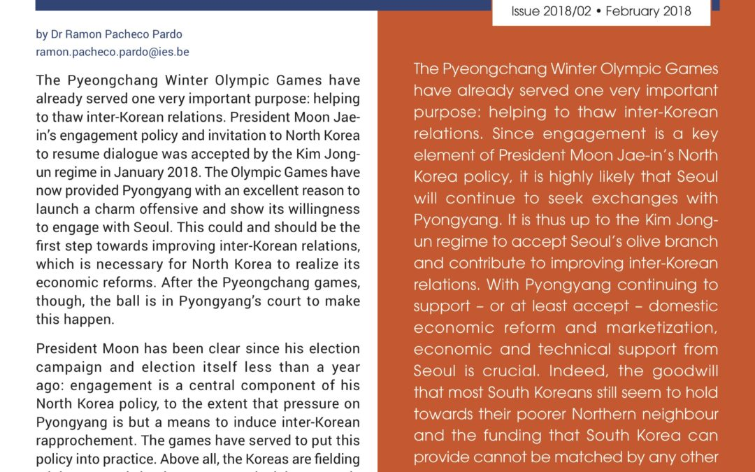 From Pyeongchang to Pyongyang