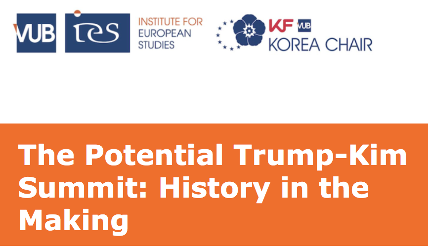 The Potential Trump-Kim Summit: History in the Making